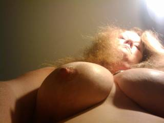 wow great tits i'm sitting here with my cock in my hand jacking off thinking how hot it would be to be pumping my cock between your perfect breast