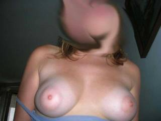 "No way you can beat a nice set of ""puffy-nippled"" titties!  All day suckers.  You can actually suck the entire nipple and areola into your mouth!  If this don't mkae your dick hard, forget it!"
