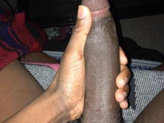 I would like to have you in my pussy. I turn into such a slut when I get fucked by a big black cock