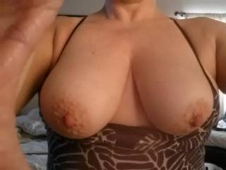 Love. Those. Tits! Would love to cum on 'em even more!