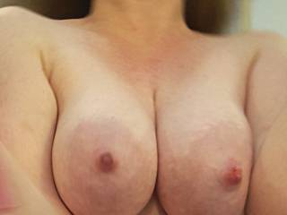 Who loves my big milk filled tits?