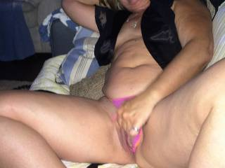 My pussy gets so wet...I know I am being watched. I love it when I am playing with myself, and my lover is stroking his cock at the same time, It gets so swollen and moist,,,it is not long before I cuming on my fingers and my swollen pussy wants his cock