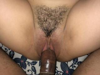 Just fucking my wife with condom