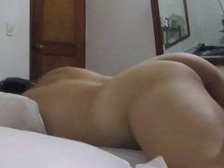 'She has a fantastic body, soo smooth and erotic and sexy.  Love to cum all over her