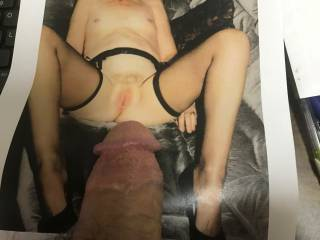 heard she had never been tributed - that pussy is much to pretty not to cream
