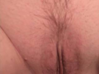 Wifes landing strip pussy after the haircut I gave her.