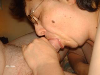 wife sucking my cock....you next?