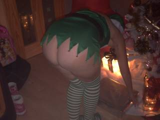 mmmm a very naughty and cheeky Elf