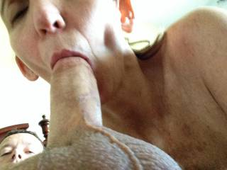 you are right my friend just looking at it with the cock in her mouth is to cum