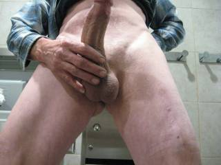 i love showing my hard cock off