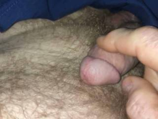 I woke this morning thinking of bettsi1970, my penis was swollen and I need to rub one off.