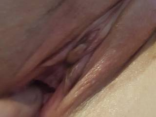 Open it up ready to take cock...