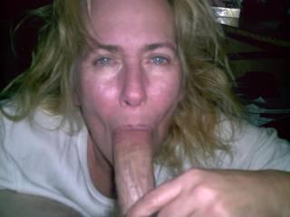 wife enjoying my cock