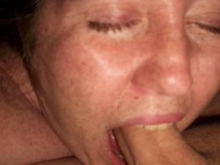 would love to see your mouth bite my cock