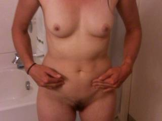 mm love to play with your sweet pussy and tits and love the long legs on my shoulders as I tease your wet pussy with my cock