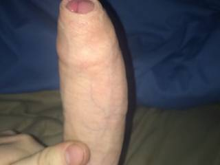 just beautiful!!!  just like my 9 1/2 inch uncut cock!!!   gods gift long, thick with smooth foreskin!!   got me rock hard!!!! tasty!!