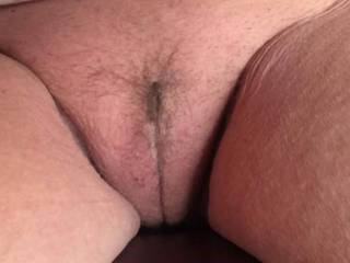 My neighbor loves to stop by to sit and talk, but always exposed her pussy...she loves being looked at...thankfully!