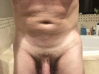 Fresh out of the shower - who wants to get me dirty?