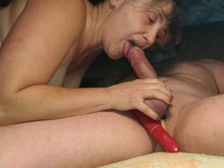 The very beginning of what becomes a great blowjob