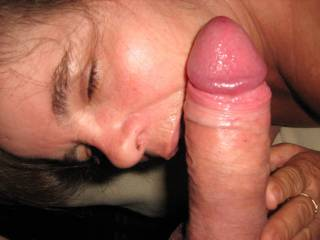 She loved to lick and suck from ball to tip, swallow my cum and rub my wet coco all over her face.