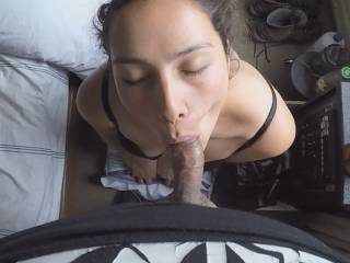 Horny Wife Hungry For Cock  Sucking Very Nice