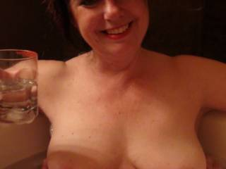I'd love to add my hot cum inside your glass so can enjoy an erotic beverage, hunny. Perhaps a mix of my and his cum every night will make you more enticing to be shared by two men as we take turns on you.
