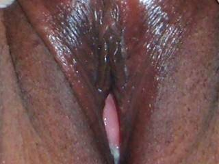 sure looks yummy! would love to taste just you first then your juice mixed with sperm next!