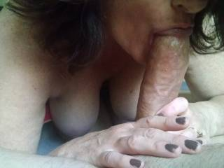 would be fun to have those sexy lips around my hard cock