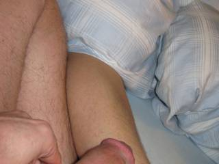 I just cannot resist leg hair when naked