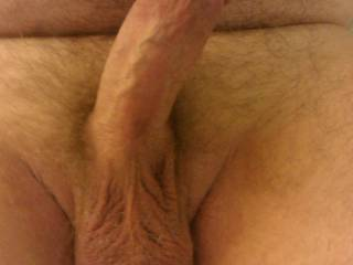 His nicely curved cock hits my G-spot perfectly.
