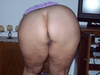 Nice big sexy white ass made for my hard black cock mmmmm