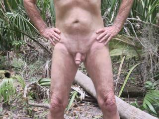 I buy Mr. F new undies to wear in the jungle, and he would rather go nude!!  From Mrs. Floridaman