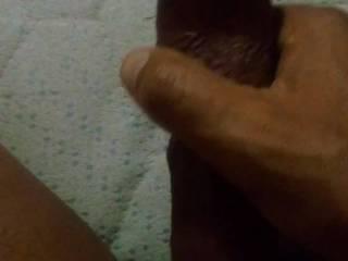 So horny my hard dick has an explosive volcano orgasm