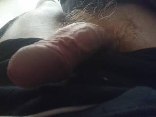 Other side from my penis,