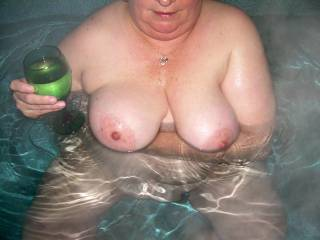 Love those titties!!! Let's see more of them!