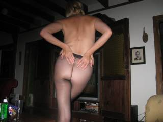 wifes ass ready to spank
