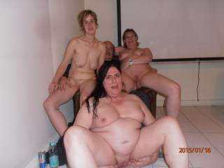 I'd love to join the three of them for some very hot sex.Betty