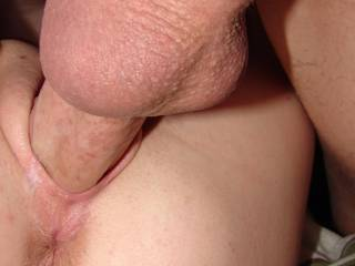 would love to be licking my wife's butthole while you fuck her like this