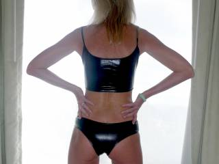 How's my ass in latex.....tempting?.....
