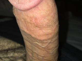7 inches, nice and veiny. Do you like?