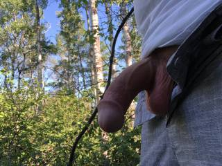 Showing Cock Outside
