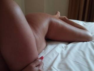 Girl pussy eaten by man untill orgasm and talking dirty