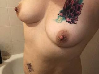 Cums all over my cock