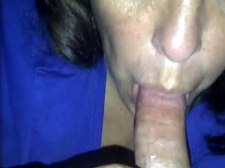 Time to suck all the juices and dry his dick