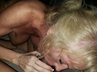 Love the way she sucked my cock. Ladies whos next?
