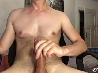 I love to cum in my own face and mouth after 3 hours edging my dick