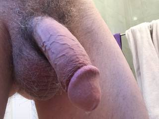 Just finished cumming -- and I left a little drop for you.  Want to taste it?