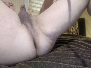 Just shaved my bum, ready to play