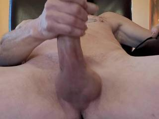 I love getting naked and stroking my cock. No matter where I\'m at.