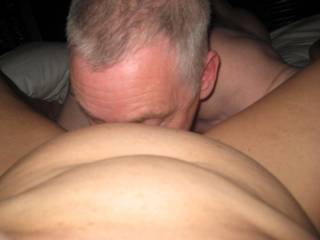 love to be behind you while your licking your wife.